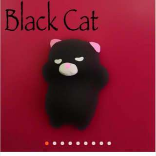 Kawaii Squishy Black Cat