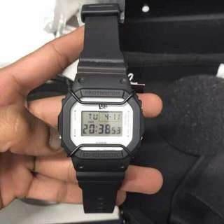 GSHOCK DW5600 x NEW ERA