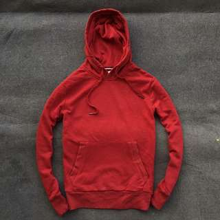 Polham Pullover Hoodie Red