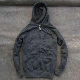 Lsj Company Zip Hoodie Grey