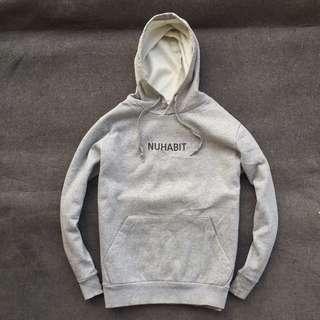 Nuhabit Pullover Hoodie Grey