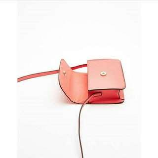 Bershka Mini Texture Crossbody Bag