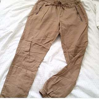 Garage High Waisted Cargo-ish Pants