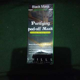 Shills-Black Mask Peel-Off