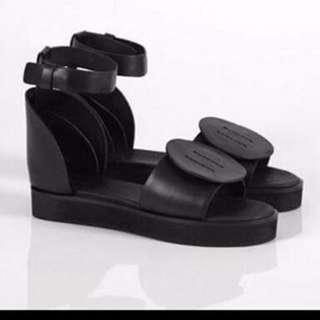 Alpha60 Tallia leather sandals 40 euc alpha 60