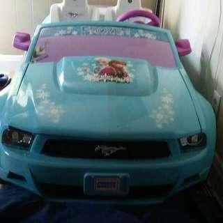 12Volts Disney Frozen Ford Mustang
