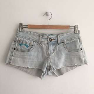 Billabong Low Waist Denim Shorts