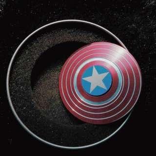Spiged Spinner Captain America