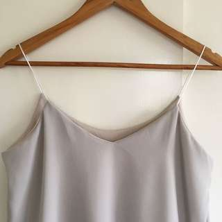 String Cami (Gray)