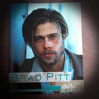 BRAD PITT tear_ out 20 Photo Book