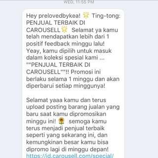 Thankyou Carousell 🙏🏼🙏🏼🙏🏼