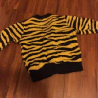 韓版豹紋針織外套