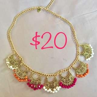 Pretty Color full Necklace