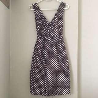 Summer Polka Dots Dress (price edited)