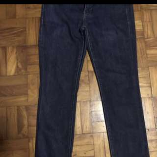 Uniqlo Skinny Fit Mid Rise Jeans