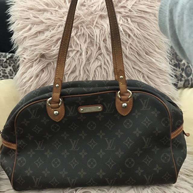 100% Authentic Louis Vuitton Monogram Canvas Montorgueil GM Bag