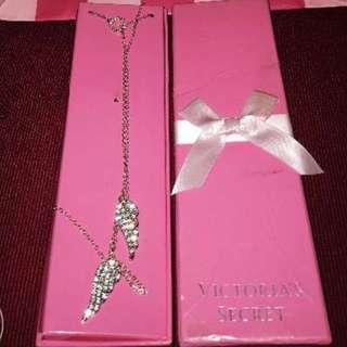 Victoria's Secret Angel Wings  Necklace