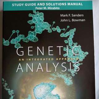Genetic Analysis Study Guide And Manual