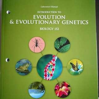 Evolution And Evolutionary Genetics