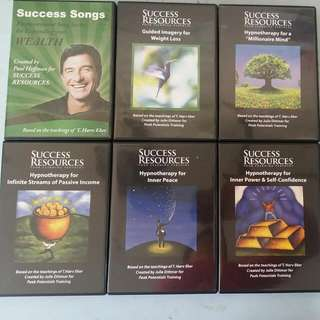 T Harv Eker Success Resources MMI Hypnotherapy CD