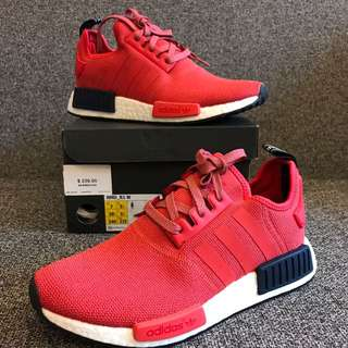 New Adidas Women's Nmd R1 Lush Red US7