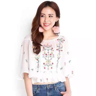 Lilypirates Labyrinth Of Summer Top Size S