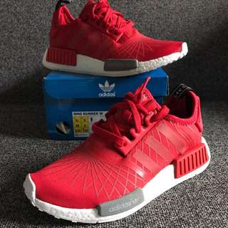 New adidas Women's Nmd R1red White 6.5