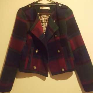 Multicolored Short Blazer