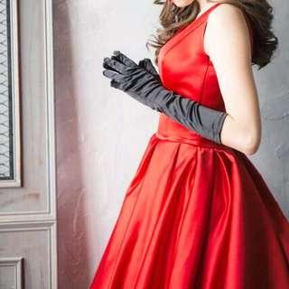 婚紗拍攝道具小物.自主婚紗/手套/皇冠/新秘/復古/黑色手套