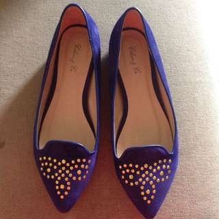 Celine Co Flat Shoes