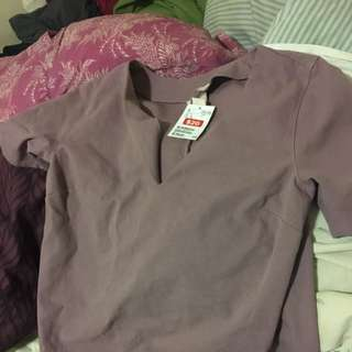 Purple Blouse BNWT