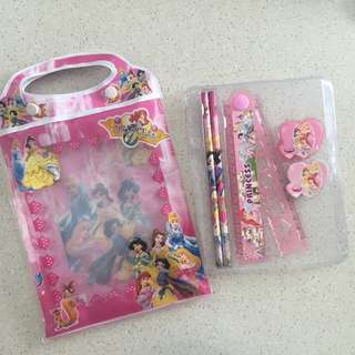🆕 Disney Princesses Stationery Set