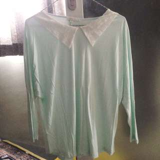 Tosca Blouse with Collar