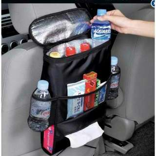BACKSEAT CAR WITH HOT & COLD ORGANIZER