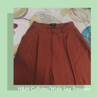H&M Cullotes (Wide Leg Trousers)