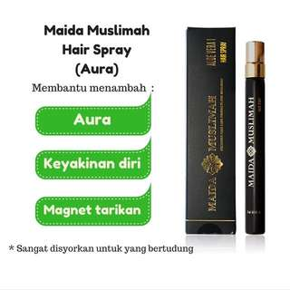PO Maida Muslimah Aura Hair Spray 15ml