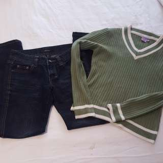 Jeans And Jumper