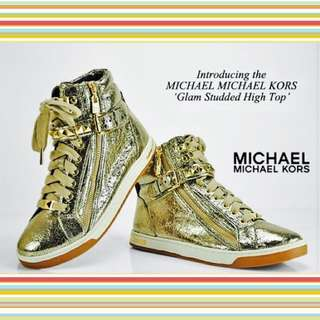 MK Michael Kors Glam Studded High Top