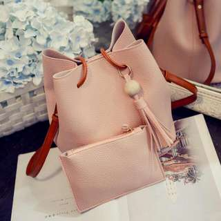 Gift Idea - Bucket Bag with small purse