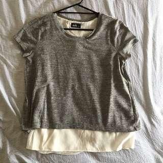 Grey Top w/ Underlay