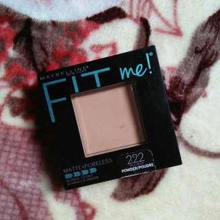 Maybelline's Fit me! Matte + Poreless Pressed Powder