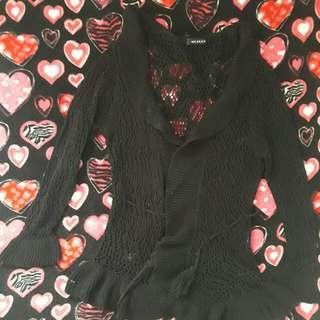 prelove knitted blazer s/m