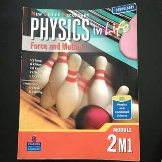 New Senior Secondary Physics in Life  Force and Motion