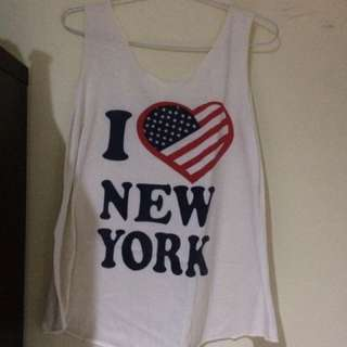 I Love New York Tank