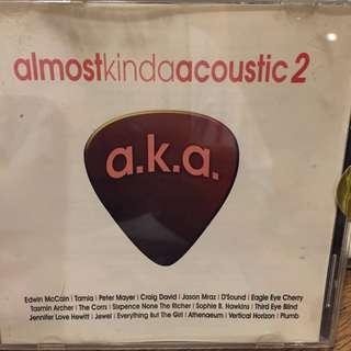 Almost Kinda Acoustic 2 - Music CD