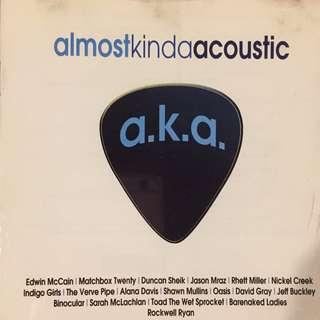 Almost Kinda Acoustic 1 - Music CD