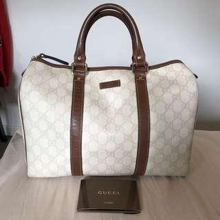 100% Authentic Gucci Boston Bag