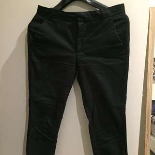Black Mango Pants