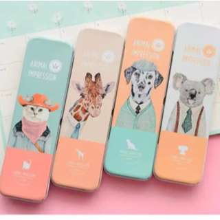 Pencil Case Besi Cute Animal