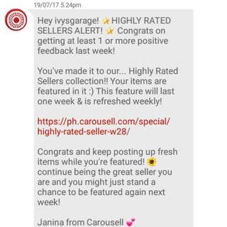 Highly Rated Seller! 🎉